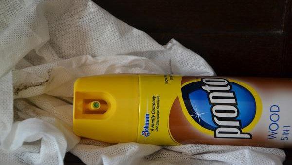 Kupiłem sporo profesjonalnych środków czystości