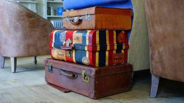 Standardowe zastosowanie walizek
