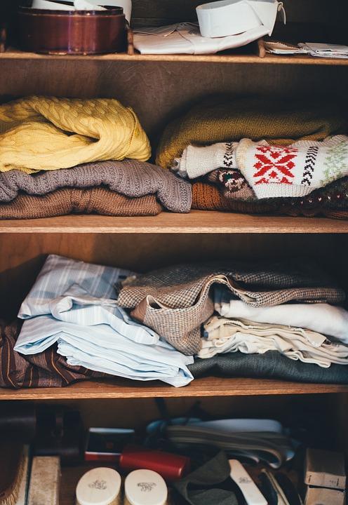 Łatwe przechowywanie ubrań