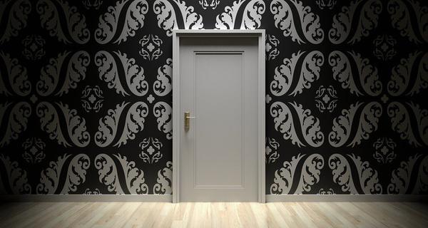 Drewniane drzwi wewnętrzne dla studentów